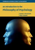An Introduction to the Philosophy of Psychology PDF