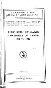 Union Scale of Wages and Hours of Labor PDF