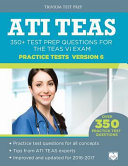 ATI TEAS Practice Tests Version 6 Book