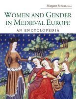 Women and Gender in Medieval Europe PDF