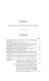 Bulletin: Volumes 13 à 14