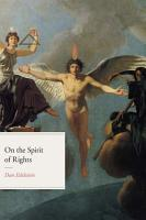 On the Spirit of Rights PDF