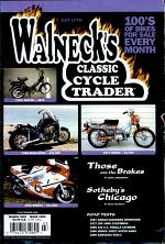 WALNECK'S CLASSIC CYCLE TRADER, MARCH 2001