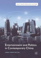Entertainment and Politics in Contemporary China PDF
