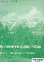 EPA Compendium of Registered Pesticides