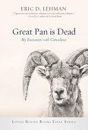 Great Pan Is Dead PDF