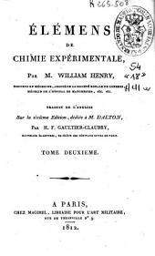 Élémens de chimie expérimentale: Volume2
