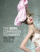 The Berg Companion to Fashion PDF