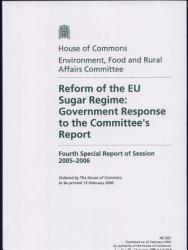 Reform Of The Eu Sugar Regime Book PDF