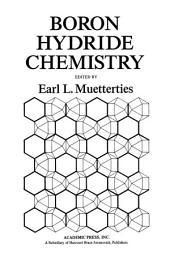 Boron Hydride Chemistry