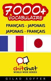 7000+ Français - Japonais Japonais - Français Vocabulaire