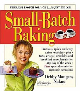 Small batch Baking Book