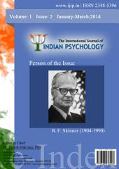 The International Journal of Indian Psychology, Volume 1, Issue 2
