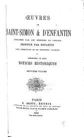Œuvres de Saint-Simon & d'Enfantin: Volumes9à10