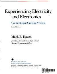 Experiencing Electricity and Electronics PDF