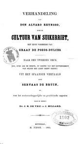 Verhandeling van don Alvaro Reynoso over de cultuur van suikerriet