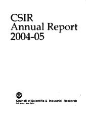 Annual Report   Council of Scientific and Industrial Research PDF
