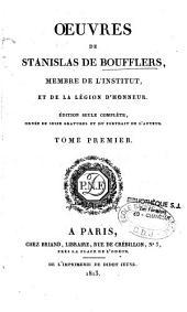 Oeuvres de Stanislas de Boufflers