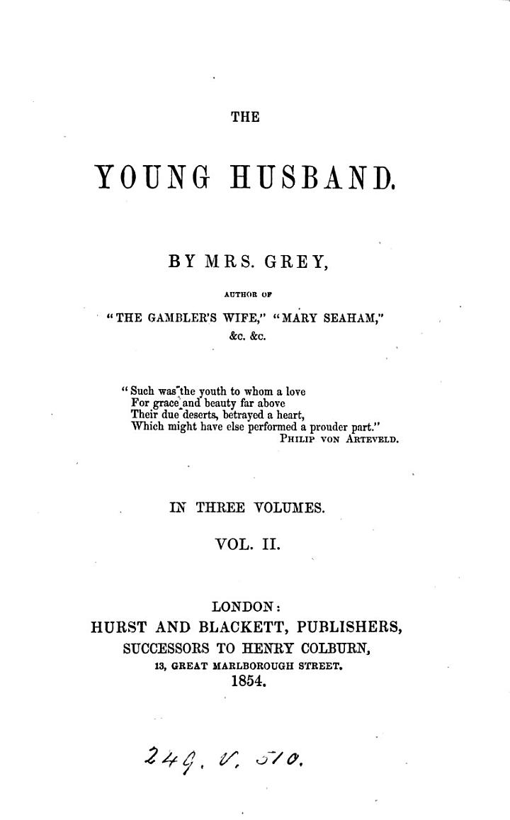 The young husband
