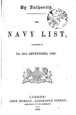 The Navy List PDF