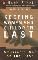 Keeping Women and Children Last PDF
