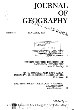 The Journal of geography