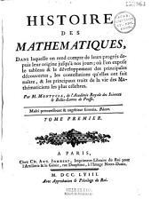 Histoire des mathématiques... par M. Montucla,...