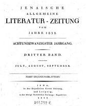 Jenaische allgemeine Literatur-Zeitung: Band 181