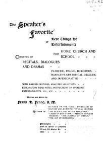 The Speaker s Favorite PDF