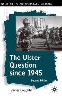 The Ulster Question Since 1945