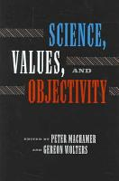Science  Values  and Objectivity PDF