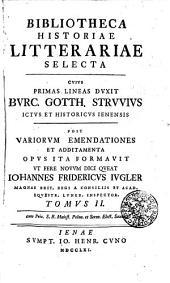 Bibliotheca historiae litterariae: Volume 2