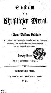 System der Christlichen Moral: Zweyter Band, Band 2