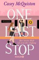 One Last Stop PDF