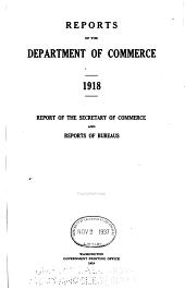 Report of the Department of Commerce