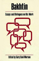 Bakhtin  Essays and Dialogues on His Work PDF