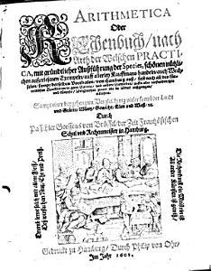Arithmetica Oder Rechenbuch  nach Arth der Welschen Practica  etc   PDF