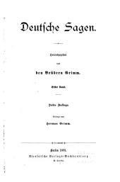 Deutsche Sagen: Bände 1-2