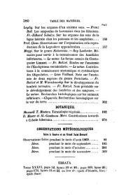 Archives des sciences physiques et naturelles: Volumes34à36