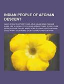 Indian People of Afghan Descent PDF