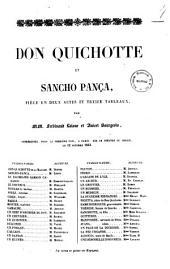 Don Quichotte et Sancho Panca piece en deux actes et treize tableaux par MM. Ferdinand Laloue et Anicet Bourgeois