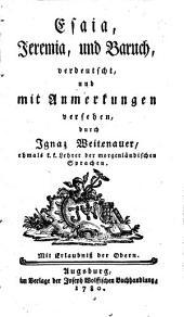 Biblia Sacra, oder Die heilige Schrift des Alten und Neuen Testamentes: Band 10