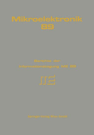 Mikroelektronik 89 PDF