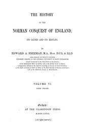 The effects of the Norman Conquest. 1876