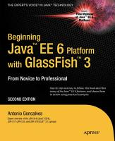 Beginning Java EE 6 with GlassFish 3 PDF