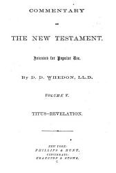Commentary on the New Testament  Intended for Popular Use  Titus Revelation PDF