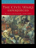 The Civil Wars Experienced PDF
