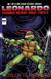 Teenage Mutant Ninja Turtles: Color Classics - Leonardo Micro Series #4