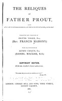 The Reliques of Father Prout PDF