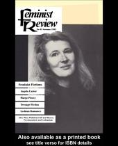 Feminist Review: Issue 42: Feminist Fictions